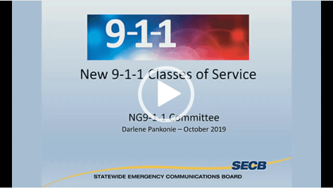 N911 Classes of Service Video